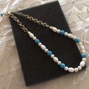 Lia Sophia Pearl Necklace
